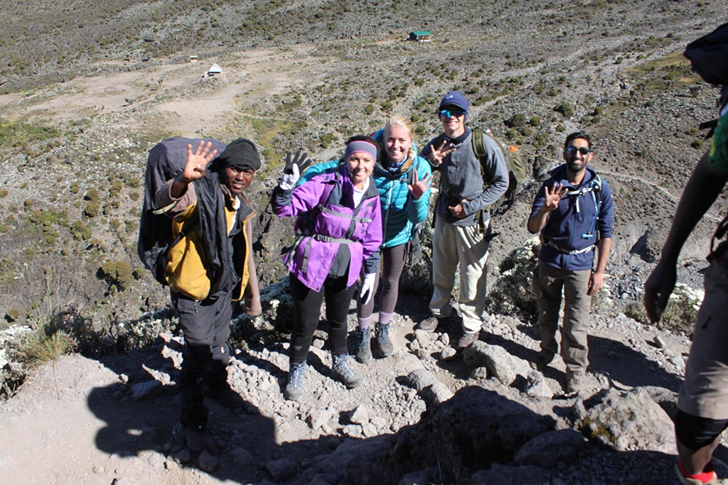 machame route 6 days is very scenic route and the successful rate is fairly high