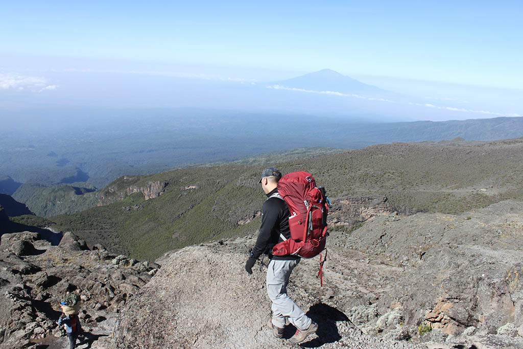 Umbwe route 6 days is a short route, providing challenges as it is very difficult to climb due to its steepness, Umbwe is not good for acclimatization.