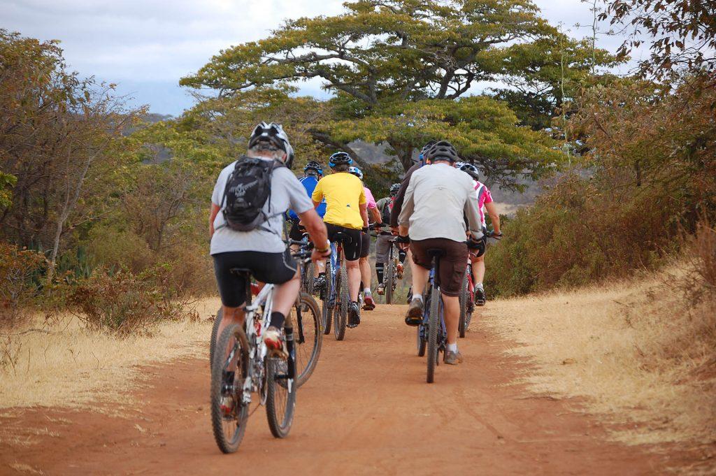 Exploring Moshi town by bike