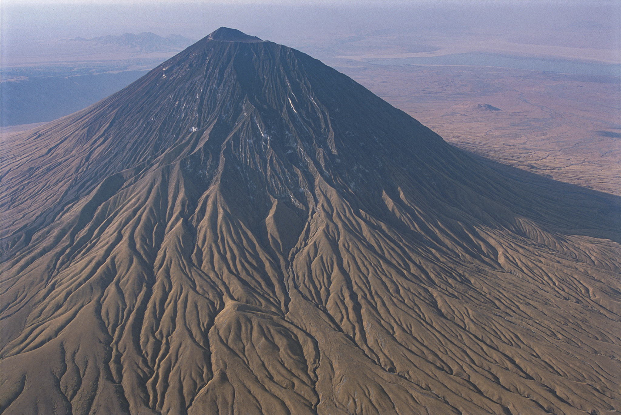 """Ol doinyo Lengai"""" means """"The Mountain of God"""" in the Maasai language."""