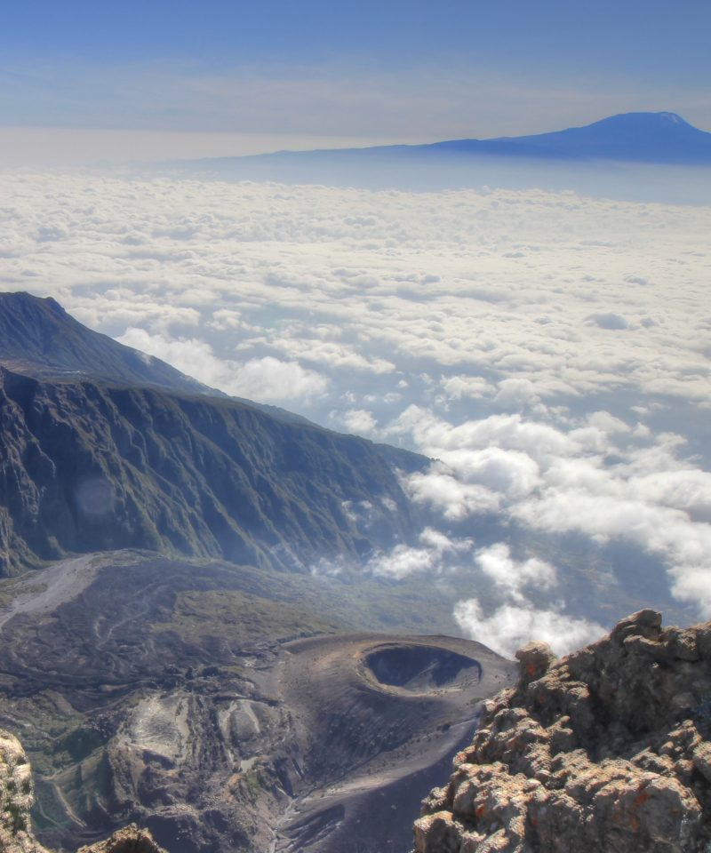 "Mount Meru is situated in the core of Arusha National Park in Tanzania and is incredible for climbing. It is generally prescribed to trek Mt. Meru as a ""Warm-up"" before summiting Mt. Kilimanjaro"