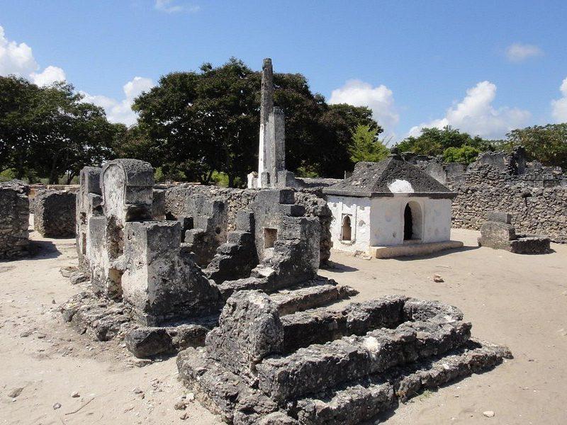 Bagamoyo historical site
